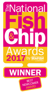 National Fish and Chips Awards 2017 Winner Best Newcomer