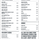 Takeaway - Menu - Longsands Fish Kitchen