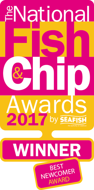 Winner - Best Newcomer - Fish and Chip Awards 2017